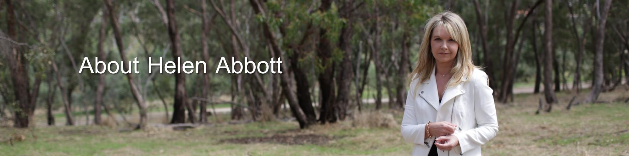 Helen Abbott About Banner