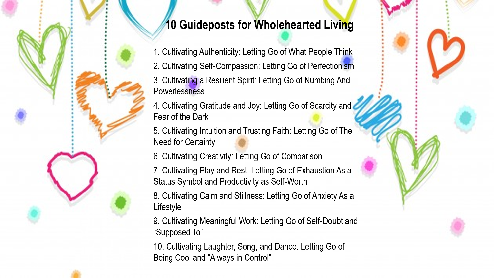 10 Guideposts