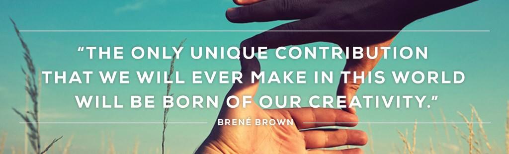 Creativity Wide Quote Image